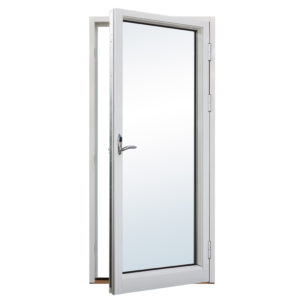 Balkongdörr i trä/aluminium 1-luft