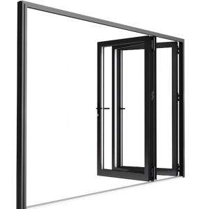 Aluminium Vikdörrar 3